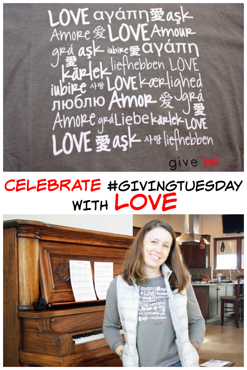 Celebrate Giving Tuesday by shopping with a purpose and supporting women artisans around the world by purchasing this adorable LOVE shirt.
