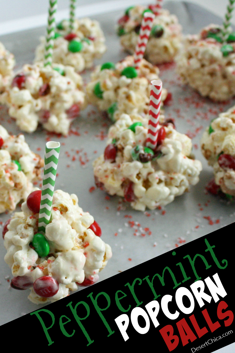 Celebrate all things peppermint with this fun recipe. The kiddos will love helping you make and decorate peppermint popcorn balls.