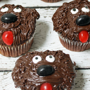 The Secret Life of Pets Duke Cupcakes