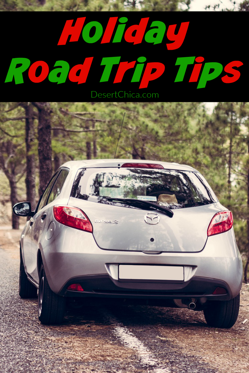 Don't miss my holiday road trip tips to help you arrive at your destination safe and sane, or help you deal with trouble if it happens.