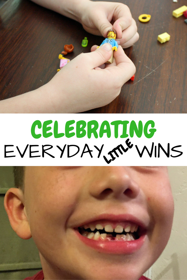 Don't skip celebrating everyday little wins, they are just as important as the milestones to your little kids!