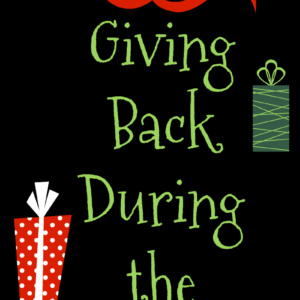 Giving Back During the Holidays