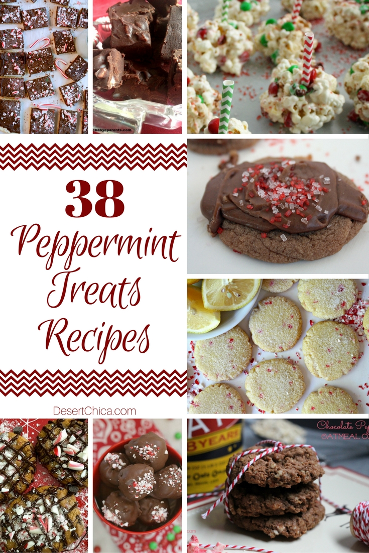 Over 35 amazing peppermint treat recipes perfect for the holiday season