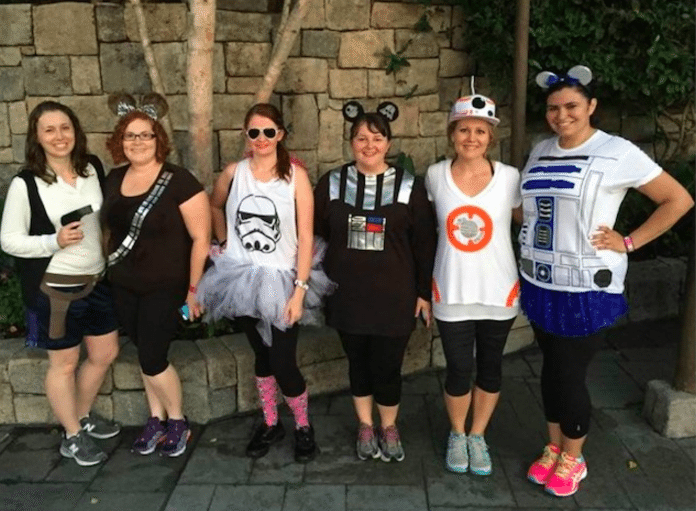 Star Wars Run Disney Costumes