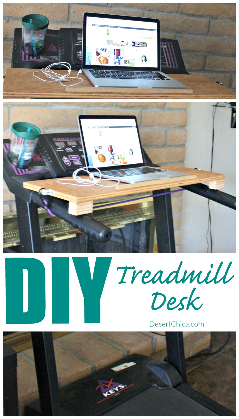 diy treadmill desk | desert chica