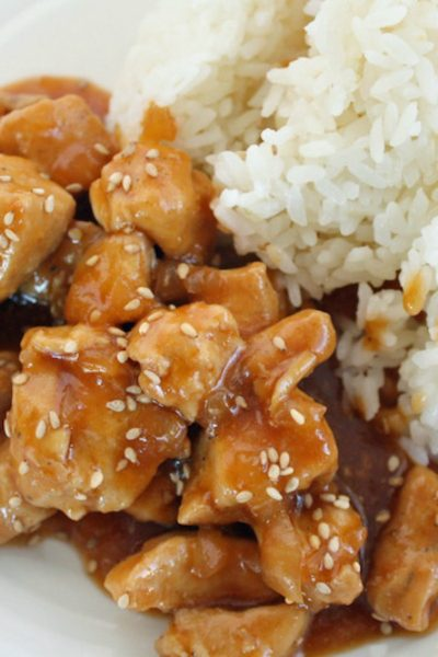 Instant Pot Sesame Chicken With Dorot