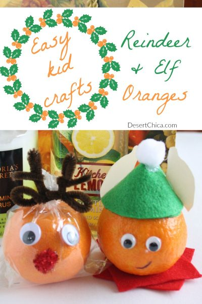 Holiday Fun with Orange Craft Ideas