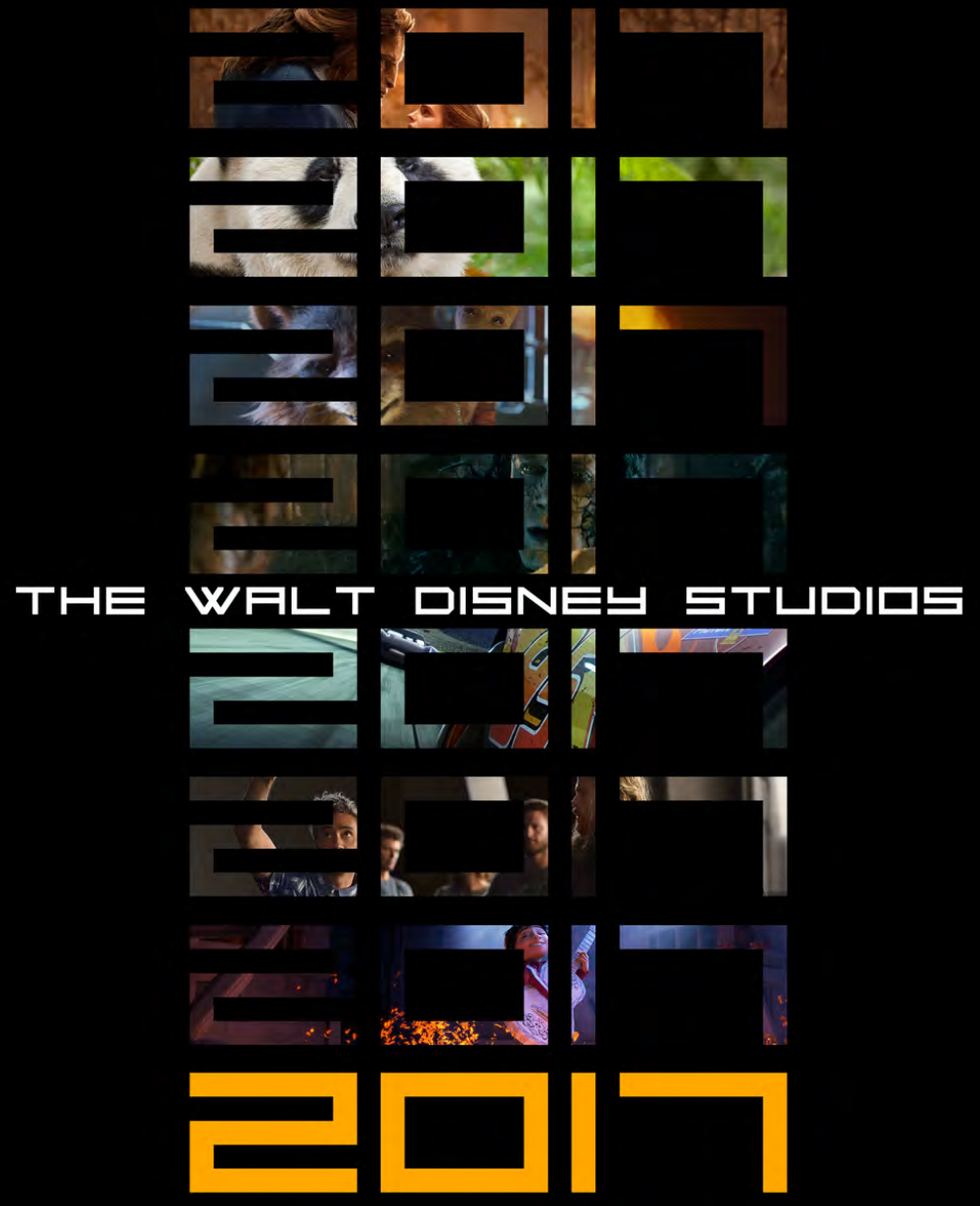 Don't miss the 2017 Walt Disney Studios Film Schedule for a peek at all the cool movies coming soon.