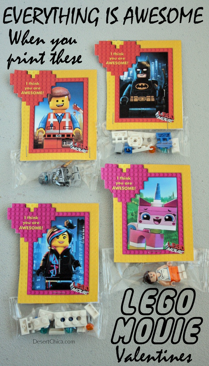 these lego movie valentines are so fun and easy to make plus they feature lego