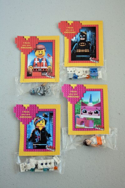 LEGO Movie Valentines