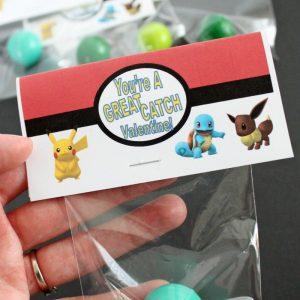 Pokemon Bouncy Ball Valentines