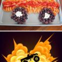 Monster Truck Fruit Tray + Monster Jam in Tucson