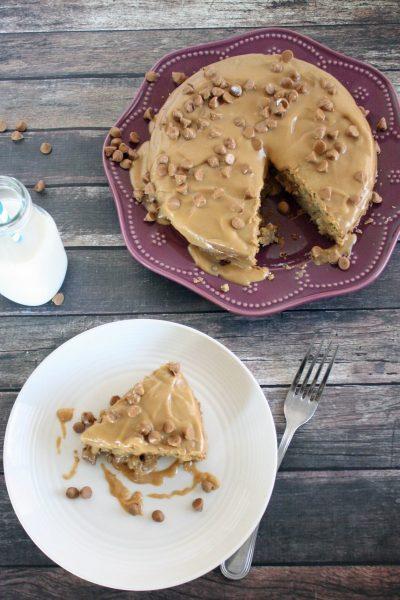 Triple Peanut Butter Cake | Gluten-Free Peanut Butter Cake