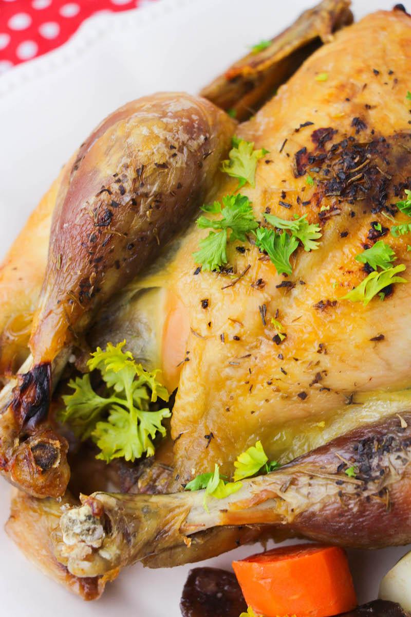 Instant Pot Whole Chicken Desert Chica