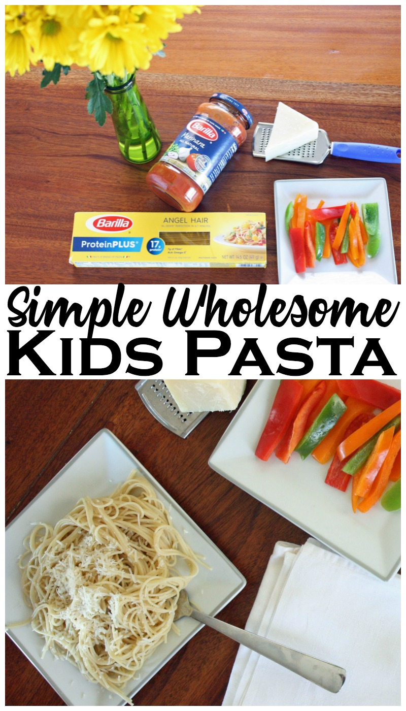 My kids are no sauce and no meatball spaghetti eaters, they are butter and cheese guys. Check out how I keep our kid pasta simple and wholesome!