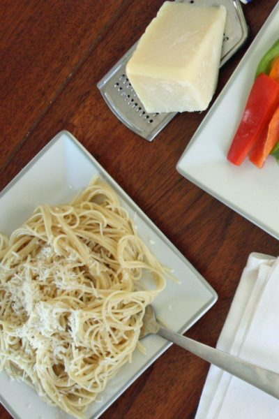 Simple Wholesome Kid Pasta Meal