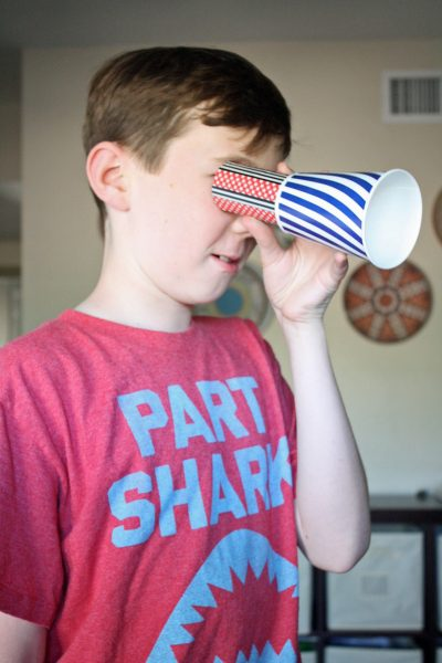 Pirate Spyglass Craft | Dead Men Tell No Tales Activity Packet