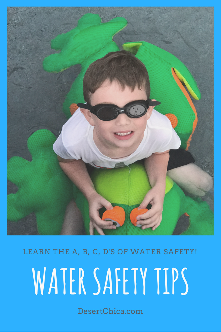 Don't miss the A, B, C, D's of water safety to keep kids and families safe around water for National Water Safety Month.
