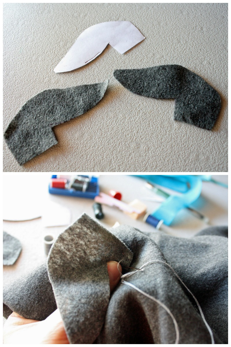 Adding ears to a Puppy Dog Pals Costume