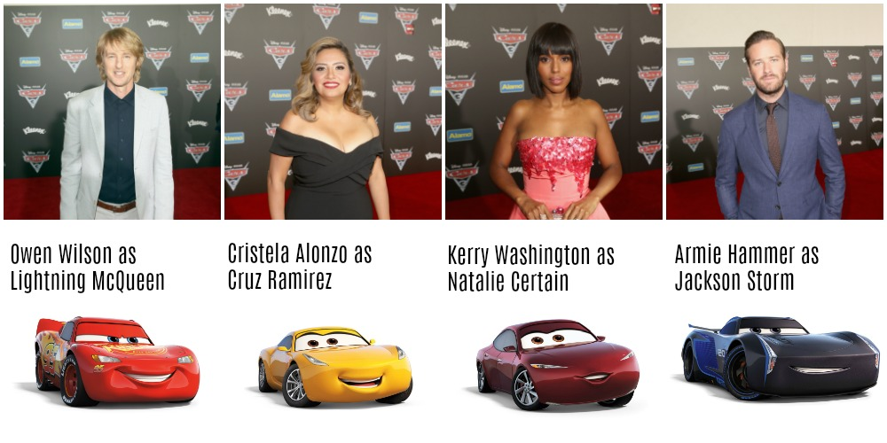 Laughing With The Cars 3 Cast Desert Chica
