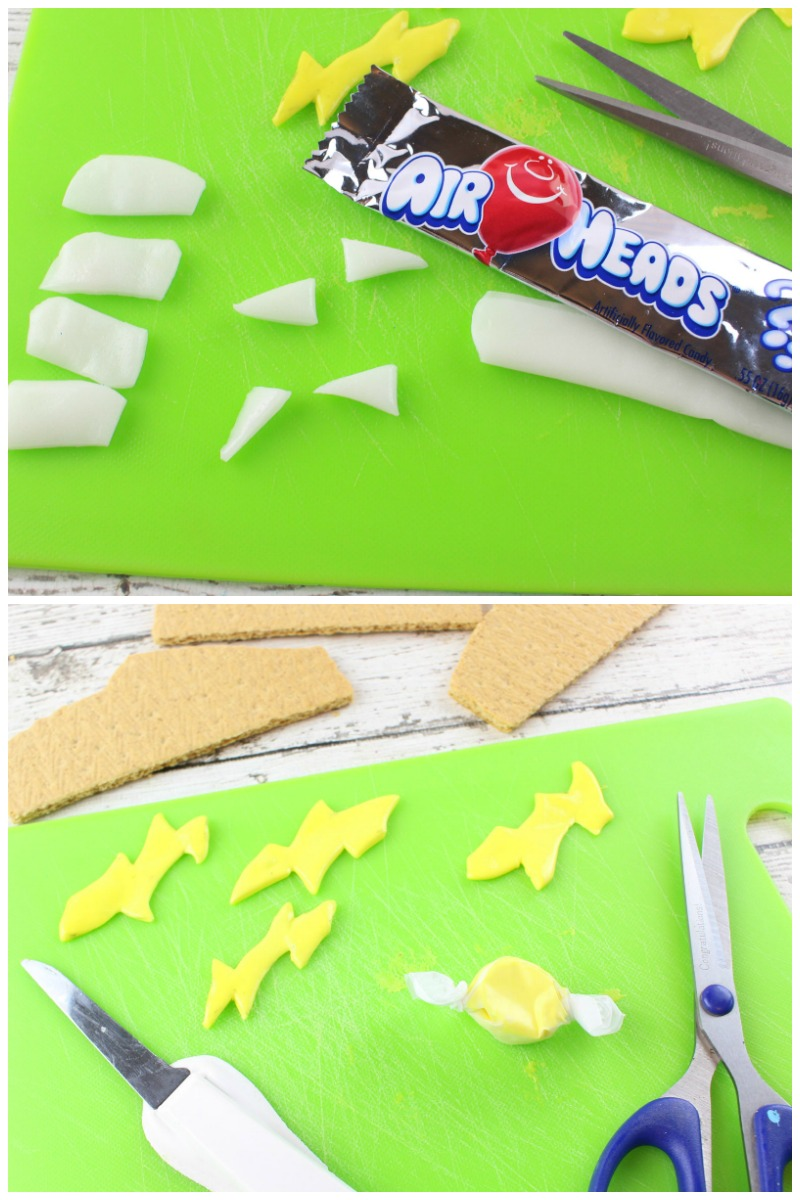 How to make Lightning McQueen Graham Cracker Treats