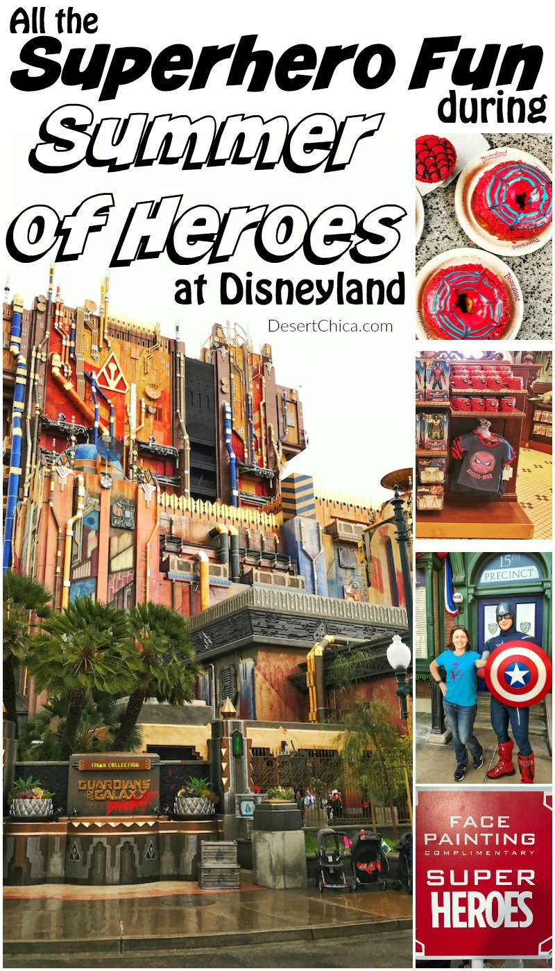 If you have a SUPER superhero fan in your house, don't miss everything superhero during Disneyland's Summer of Heroes event.