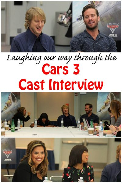 Laughing with the Cars 3 Cast