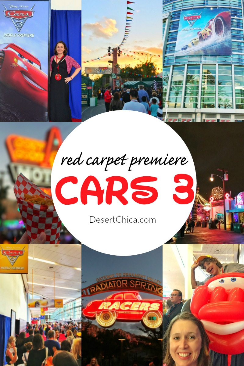carpet world. i just returned home from another whirlwind disney press trip. this trip included the world premiere of cars 3 and was my 2nd red carpet experience. a