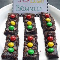Stoplight Brownies