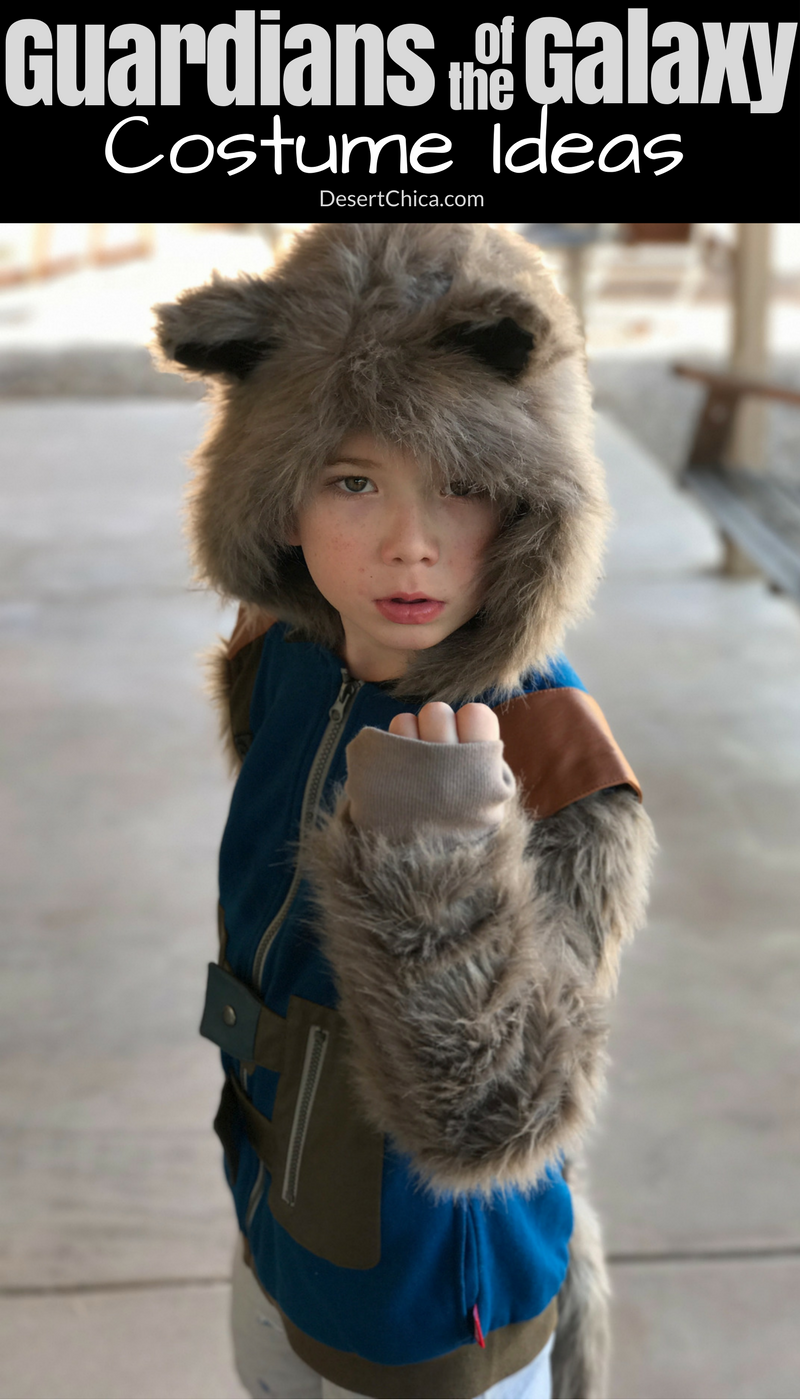 Don't miss these great DIY Guardians of the Galaxy Costume ideas, perfect for a family costume theme or any super Marvel fan