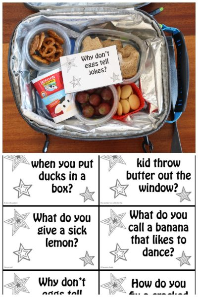 Fun Lunch Box Jokes