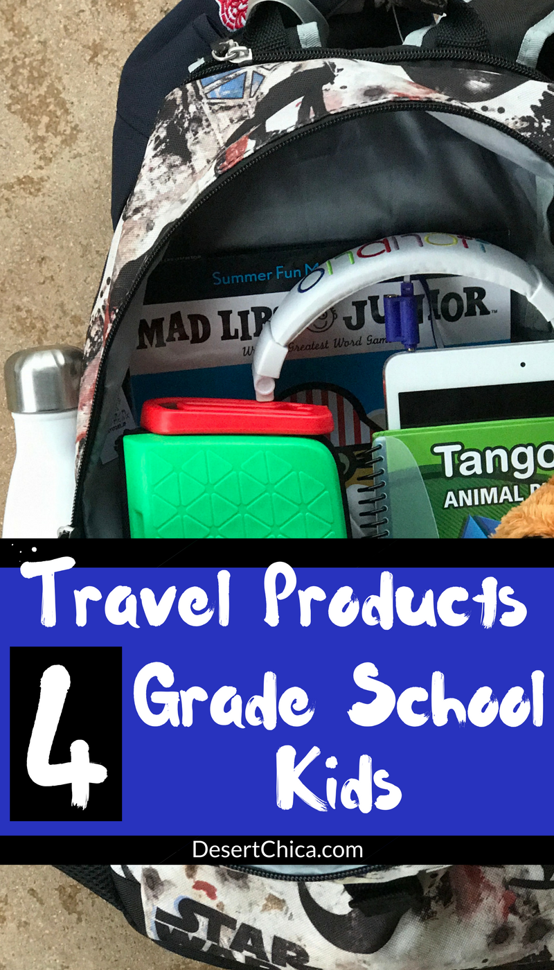 Check out the kids travel gear we packed for our grade school sons. The products kept them safe, comfortable and engaged making our travels much happier.