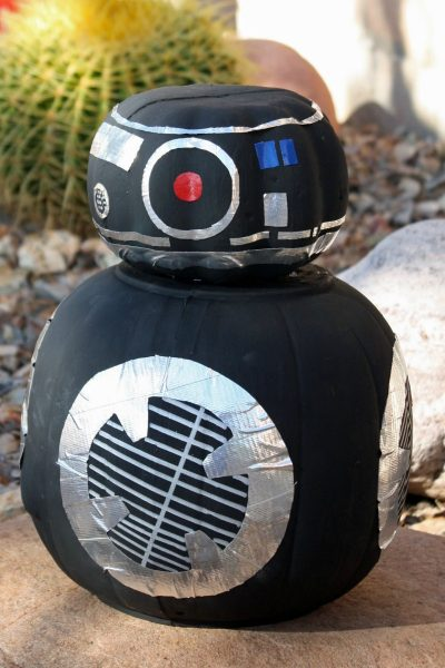 DIY Star Wars BB-9E Pumpkin