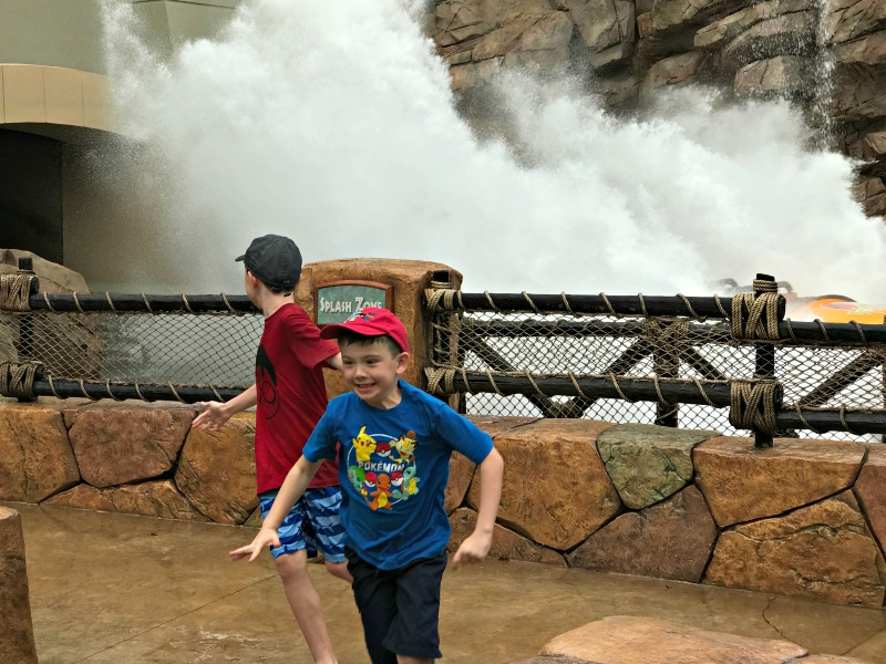Don't miss the splash zones for water fun at Universal Orlando