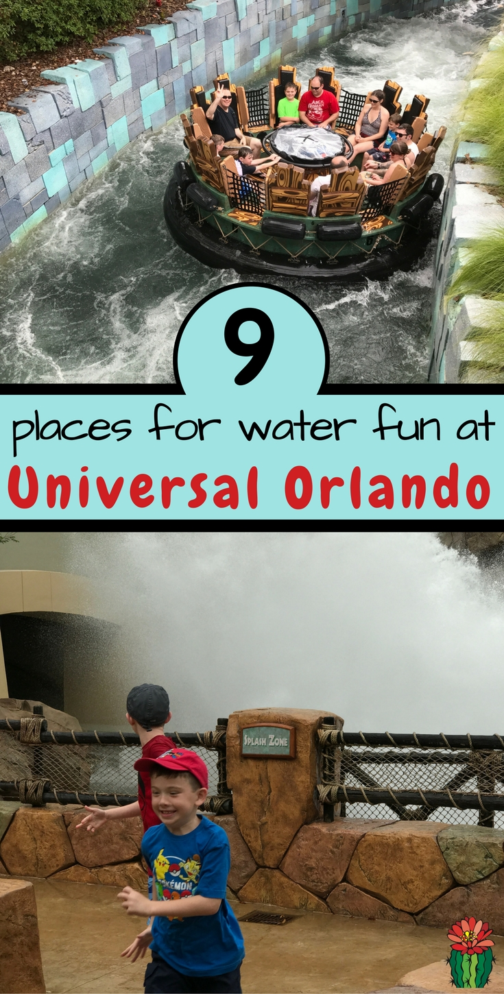 Don't miss all the water fun at Universal Orlando on your next visit from water rides to splash zones, it's easy to stay cool at Universal Orlando.