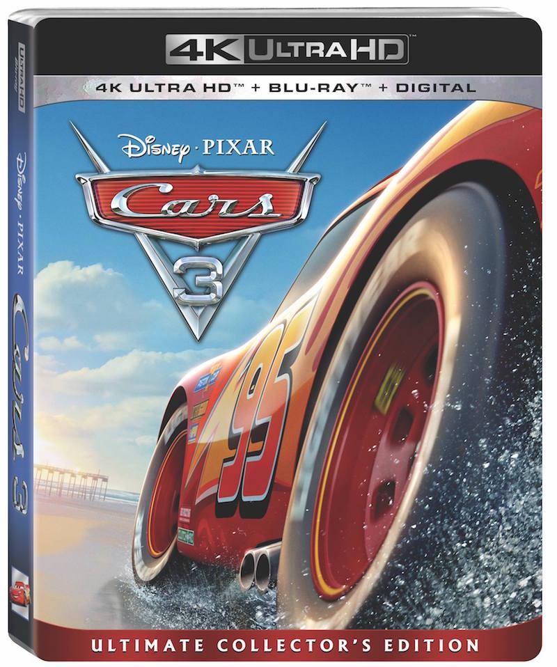 Cars 3 Blu-ray release THOR RAGNAROK Premiere