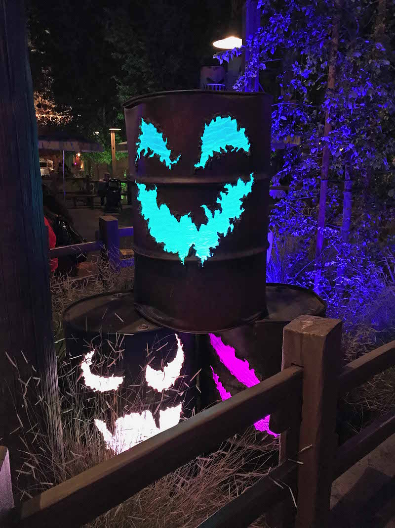 Cars Land Haul-O-Ween Halloween Decorations