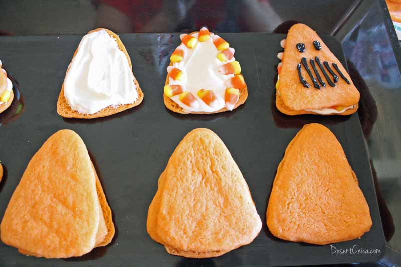 I can't always get over to California for some real Disneyland Halloween Treats but making Cars Land Haul-O-Ween cookies made everyone happy