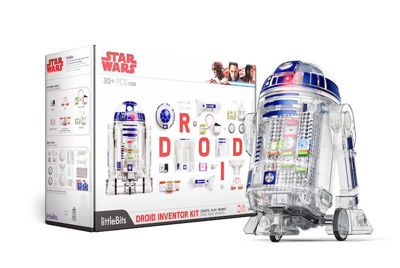 Star Wars R2D2 LittleBits DROID INVENTOR KIT FOR CHRISTMAS WISHLIST
