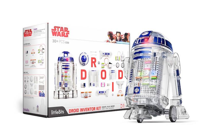 littleBits r2d2 droid Inventor kit THOR RAGNAROK Premiere