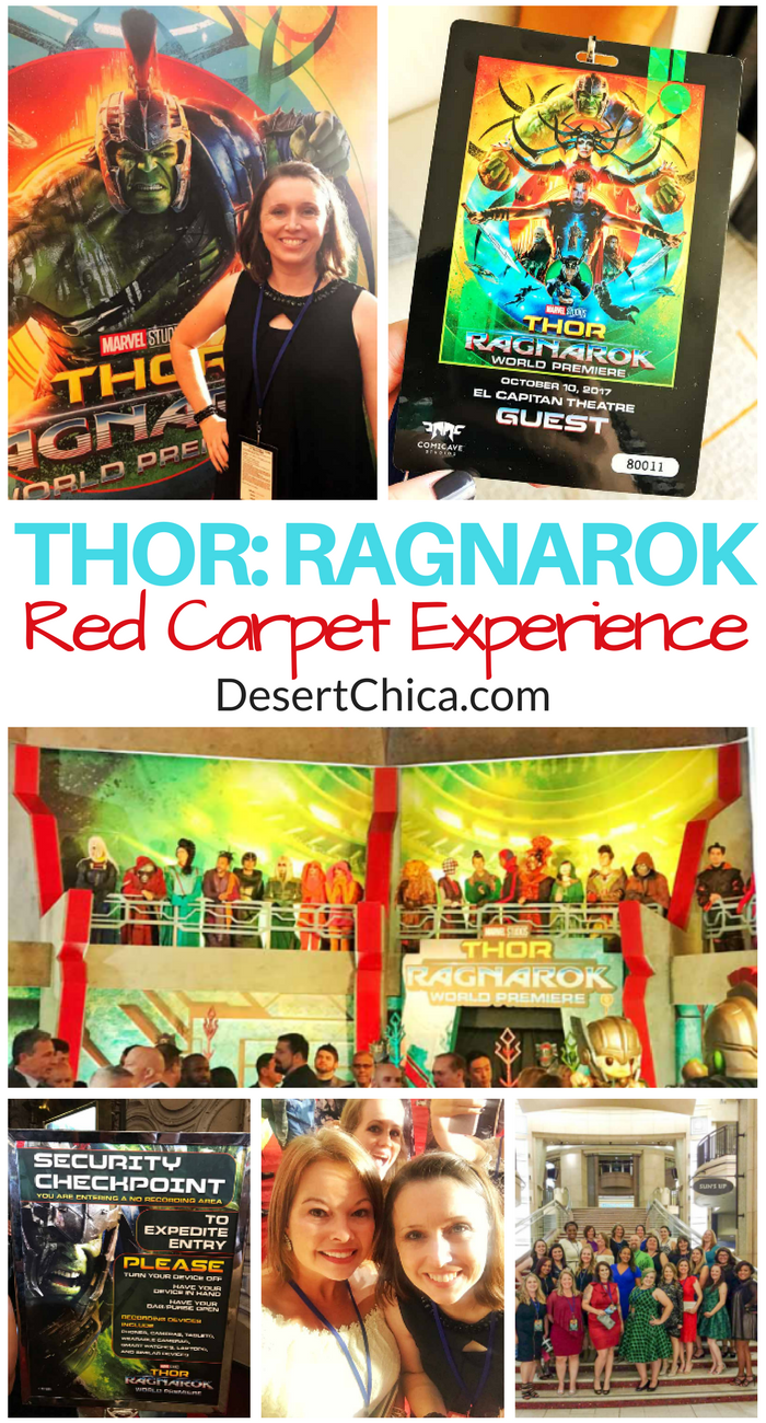 THOR RAGNAROK Red Carpet Experience