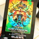 Thor Ragnarok red carpet Premiere lanyard