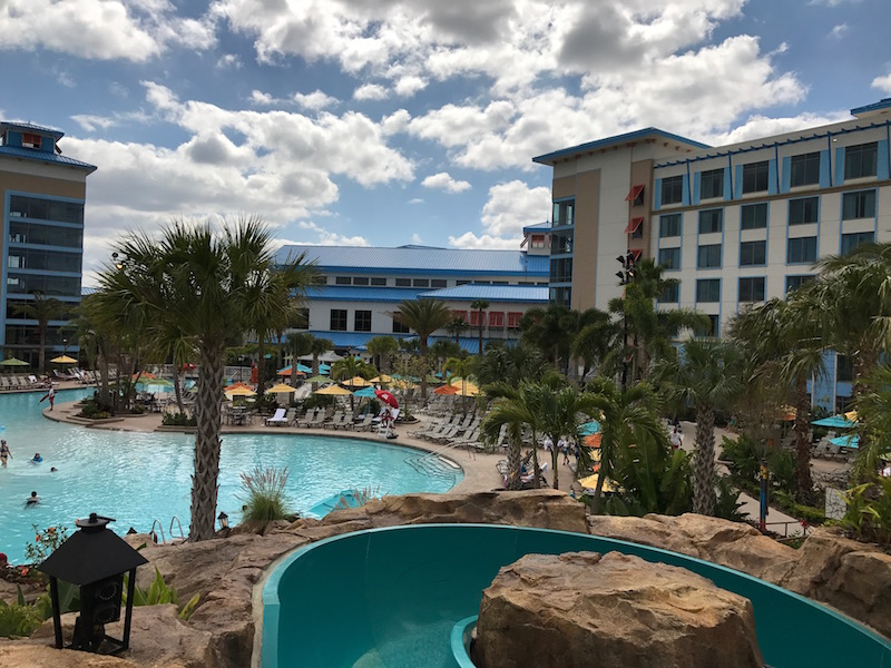 Universal Orlando Loews Sapphire Falls Resort Pool