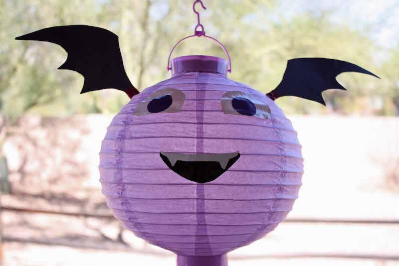 Vampirina Paper Lantern Craft