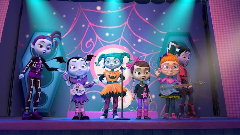 scene from Disney's Vampirina show