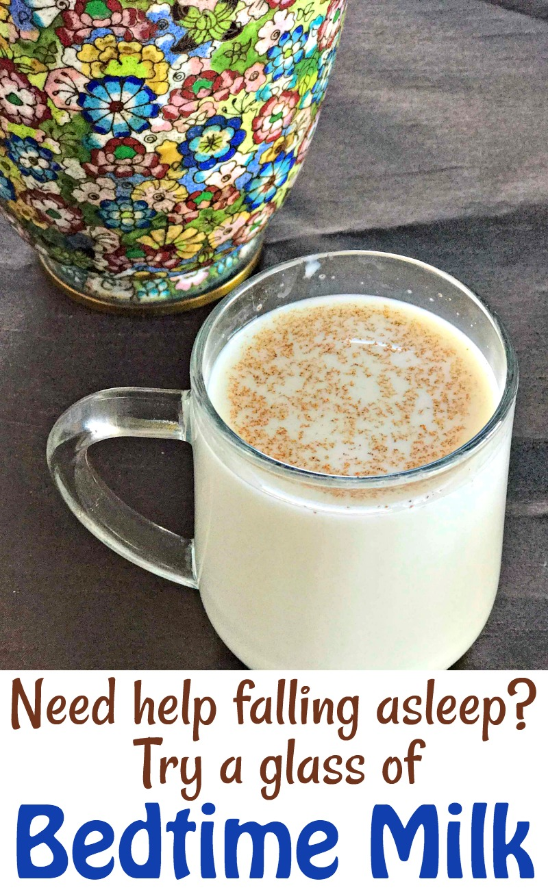 Bedtime Milk Recipe to help you fall asleep!