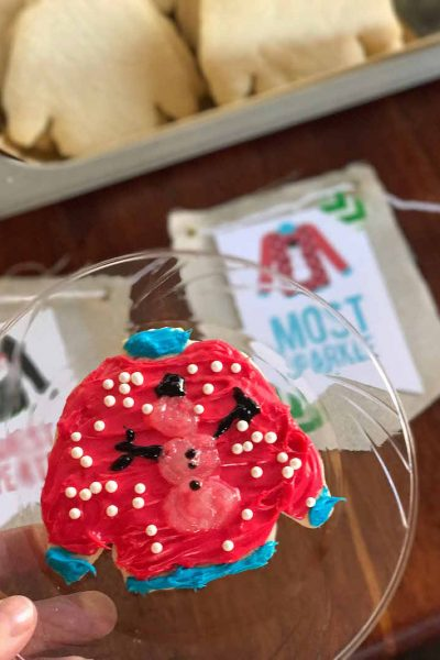 Ugly Christmas Sweater Party Cookies