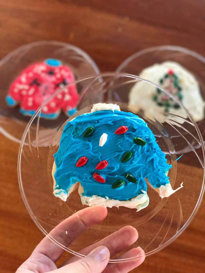 How many ugly Christmas sweater cookie designs can you come up with?