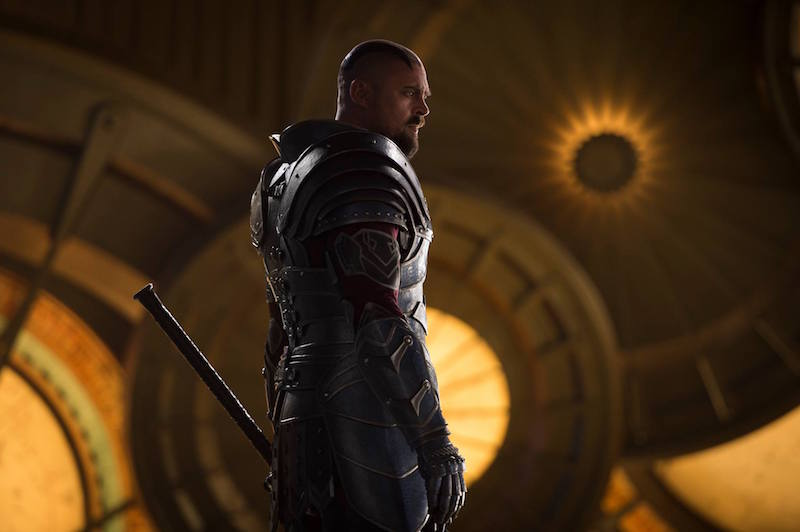 Karl Urban as Skurge in Thor Ragnarok