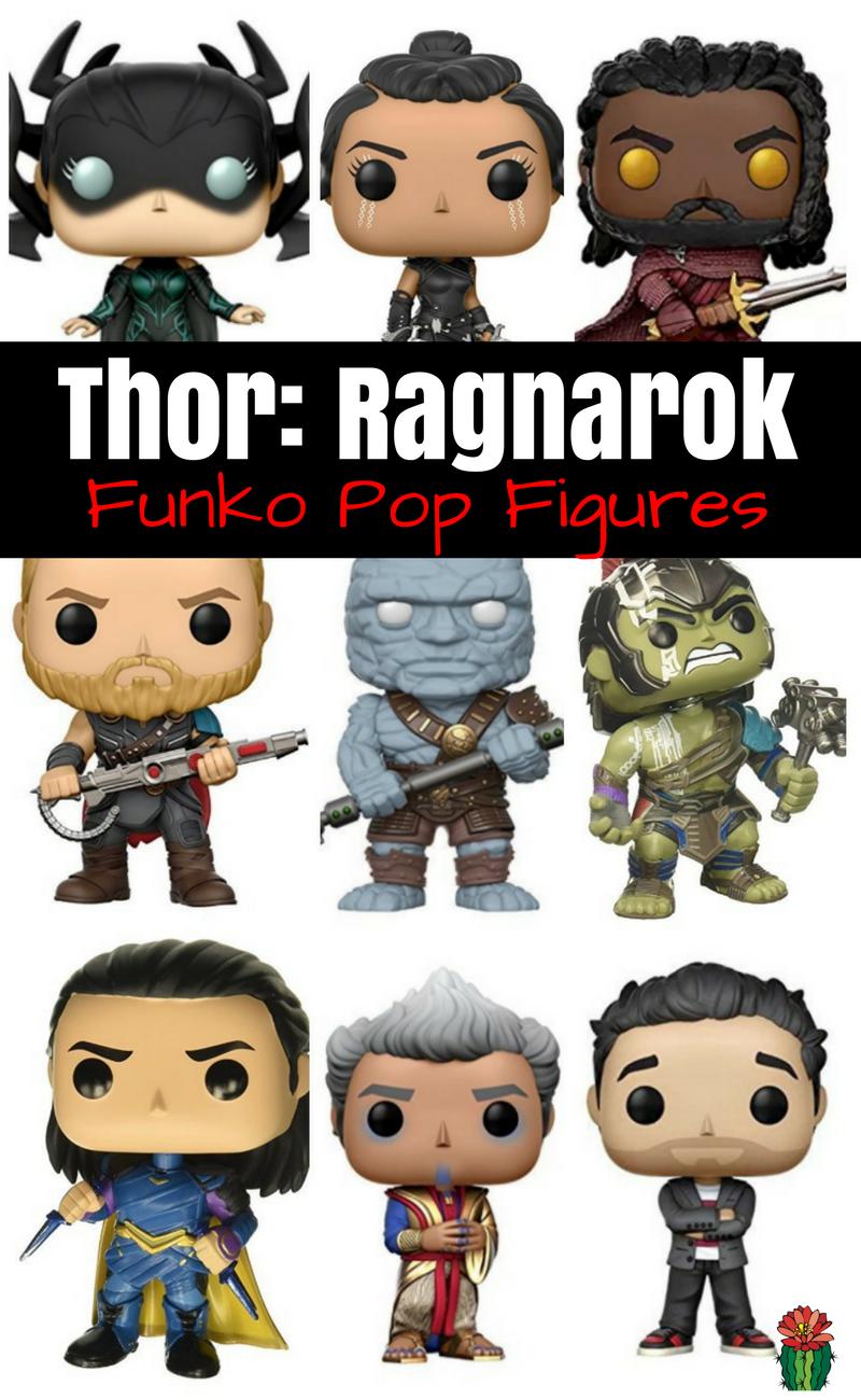 Thor Ragnarok Funko Pop Figures